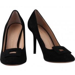Charlotte Olympia Black Catherine Pump Heels