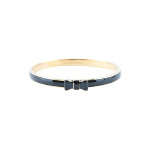 Kate Spade Black Bangle