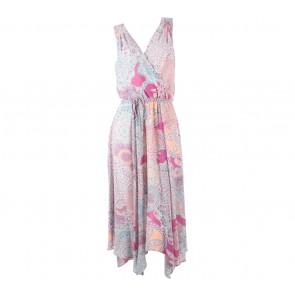Warehouse Multi Colour Patterned Slit Mini Dress