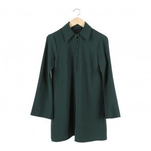 Zara Dark Green Mini Dress