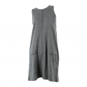 Zara Grey Sleeveless Mini Dress