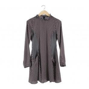 Zara Multi Colour Patterned Mini Dress