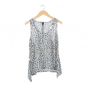 Cache-Cache Multi Colour Leopard Sleeveless