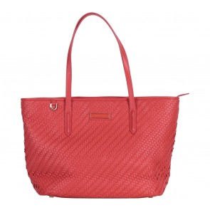 Charles and Keith Peach Tote Bag