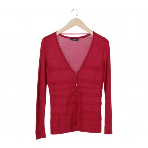 Esprit Red Basic Cardigan