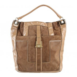 Anya Hindmarch Brown Shoulder Bag