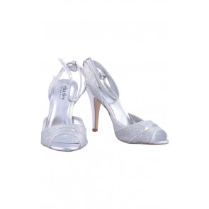 Charles David Silver Glaze Heels