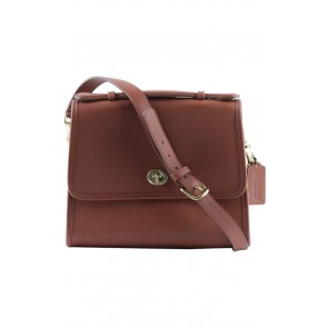 Coach Brown Leather Sling Bag
