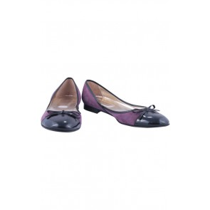 Raoul Purple Suede Flats