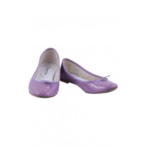 Repetto Purple Ballerina Flats