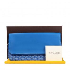 Goyard Blue Clutch