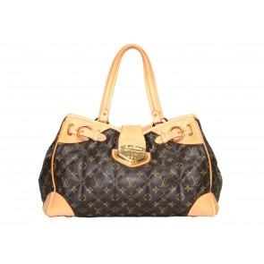 Louis Vuitton Brown Tote Bag