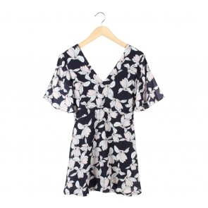 Something Borrowed Multi Colour Floral Mini Dress