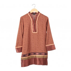P.S Brown Tunic Blouse