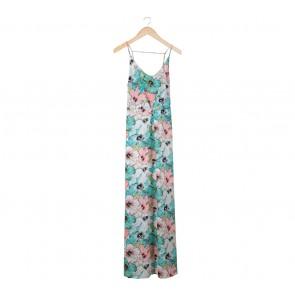 H&M Multi Colour Floral Long Dress