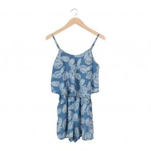Denim Co Blue Jumpsuit