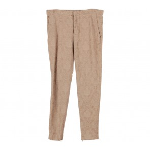 Zara Brown Pattern Pants