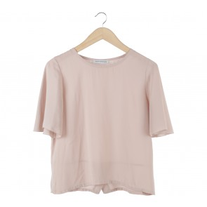 Cotton Ink Pink Blouse