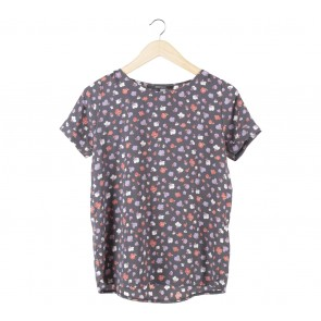 Shop At Velvet Grey Floral Blouse