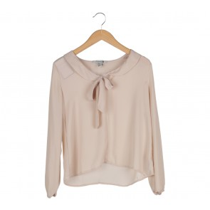 Forever 21 Nude Blouse