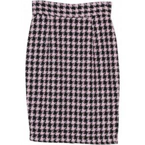 Picnic Black And Pink Skirt