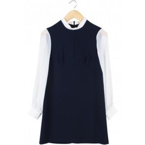 Topshop Dark Blue Mini Dress