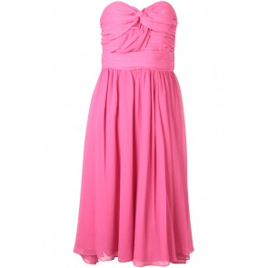 H&M Pink Tube Midi Dress