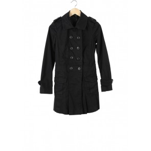 Mango Black Coat