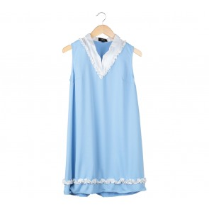 Suki The Label Blue Sidney Sky Mini Dress
