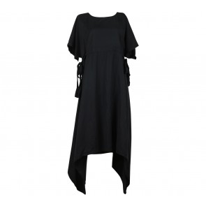Slovv Black Tied Long Dress