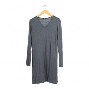 Mango Grey Mini Dress