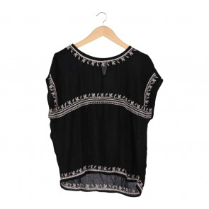 Stradivarius Black Blouse