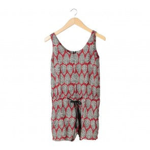 (X)SML Multi Colour Patterned Jumpsuit