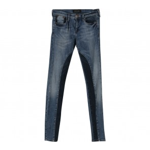 River Island Dark Blue Skinny Jeans Pants