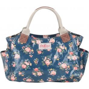Cath Kidston Dark Blue Floral Handbag