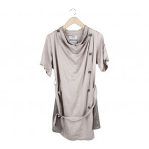 (X)SML Light Brown Mini Dress