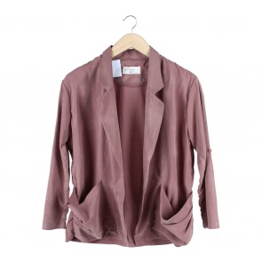 (X)SML Pink Blazer