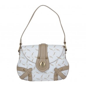GJ By Gattinoni White Shoulder Bag