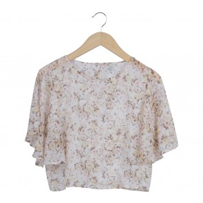 Stradivarius Multi Colour Floral Blouse