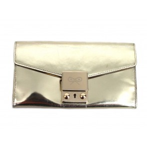 Anya Hindmarch Gold Wallet