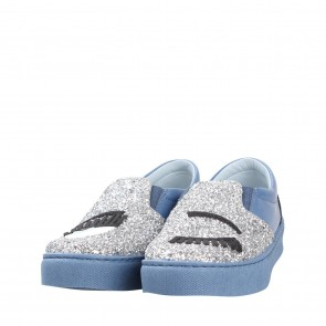 Chiara Ferragni Blue Sneakers