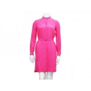 Diane Von Furstenberg Pink Midi Dress