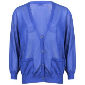 Dries Van Noten Blue Cardigan