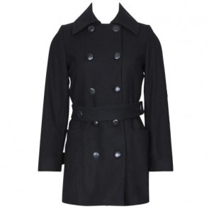 Fred Perry Black Coat