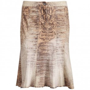 Roberto Cavalli Brown Skirt