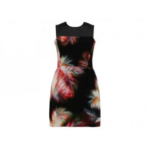 Sandro Black Midi Dress