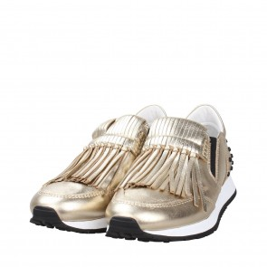 Tod´s Gold Sneakers