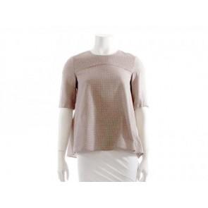 Victoria Beckham Brown Shirt
