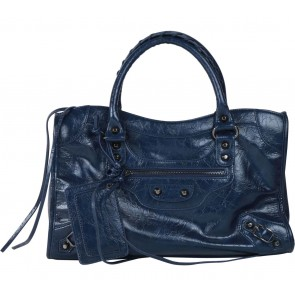 Marc & Stuart Dark Blue Satchel