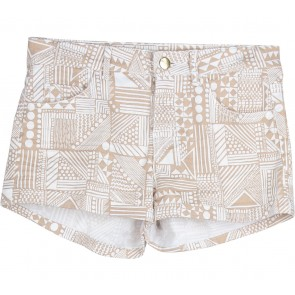 H&M Brown And Off White Tribal Pants